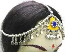 Afghan Gypsy Boho Banjara Jewelry Tikka Belly Dance Tribal Kuchi Head Piece Mang