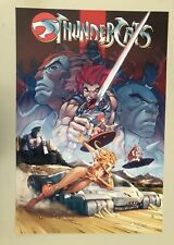 THUNDERCATS, ANIMATION RARE AUTHENTIC 1990's POSTER