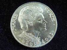 Münzen aus Frankreich mit berühmter Persönlichkeit