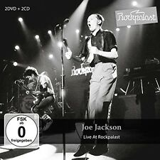 Live At Rockpalast - Joe Jackson (2016, CD NIEUW)4 DISC SET