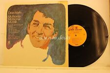 "Dean Martin - My Woman, My Woman, My Wife, LP 12"" (G)"