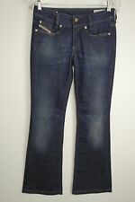 Diesel Industry Size 25 X 30 Blue Denim Jeans Flare Stretch Louvely Low Rise