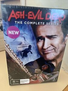 ASH VS EVIL DEAD Complete Collection Series Seasons 1, 2 & 3 DVD New & Sealed R4