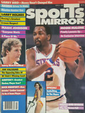 Sports Mirror March 1984 Vtg Magazine Moses Malone Larry Bird Magic Johnson - EX