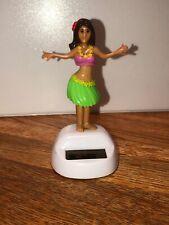 New Solar Powered Dancing Toy Bobble Head HULA GIRL