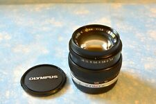 Olympus OM System G.Zuiko Auto S 50mm f/1.4 Lens - Immaculate condition