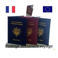 protège passeport étui pour passeport document de voyage vacances aéroport fr