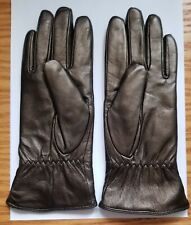 Excelled Bronze Women's Soft Leather Gloves Cashmere Lining ~ Size Medium.