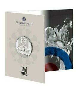 **New** Royal Mint The Who 2021 UK £5 BU Coin - Music Legends Series