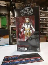 STAR WARS THE BLACK SERIES 6in CLONE COMMANDER BLY #104