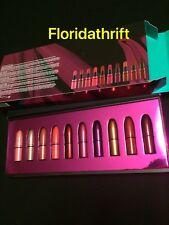 MAC  COSMETICS HOLIDAY SHINY PRETTY THINGS 10 MINI LIPSTICK LIP KIT SET