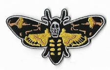 Silence of the Lambs Patch Embroidered Badge Hannibal Lecter Deaths Head Moth