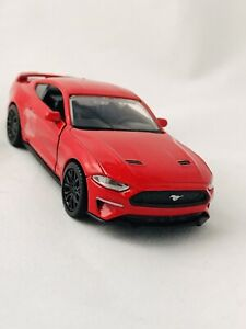 """2018 FORD MUSTANG GT MUSCLE CAR 1:39 SCALE BRAND NEW METAL MODEL BY """"MOTOR MAX"""""""