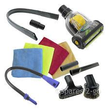 Voiture Valet Brosse, Embout suceur brosse Turbo Kit d'outils pour karcher pour aspirateur Hoover