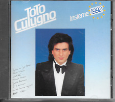 TOTO CUTUGNO - Insieme: 1992 CD Album 10TR EUROVISION 1990 ITALY (EMI)