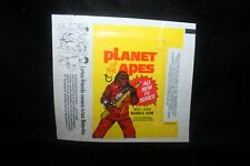 Vintage Planet Of The Apes Wax Pack Wrapper Only