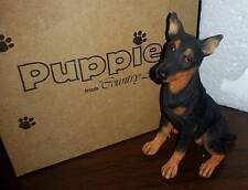 Retired Country Artists Doberman Pinscher Puppy Free S/H, Nib