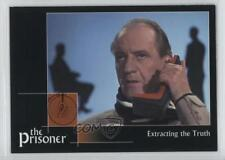 2002 Cards Inc The Prisoner Autograph Series #21 Extracting the Truth Card 0f8