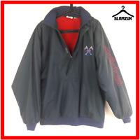 Adidas Golf Jacket Vintage Mens 40 / 42 L Large Coat Jacket Blue Navy Sport Coat