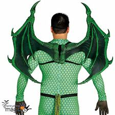 Large Green Dragon Wings Halloween Game of Thrones Fancy Dress Costume Accessory