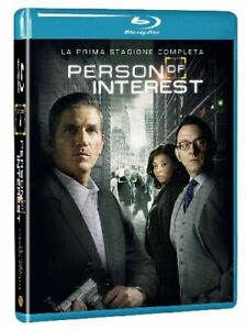 Person Of Interest - Stagione 01 (4 Blu-Ray) WARNER HOME VIDEO