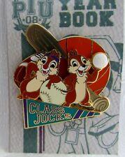 Disney Pin Trading University Class Jocks Chip & Dale Pin LE 500