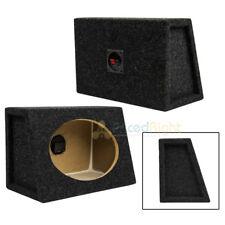 "Set of Two 6 x 9"" Slanted / Angled Speaker Box / Enclosure MDF Speaker Box"