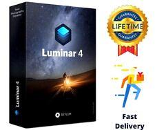 Luminar 4 Photo Editor 2020 ORIGINAL Full version Lifetime PRE ACTIVATED