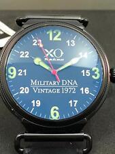 XO Retro Men's F4 Phantom 1972 Vietnam Military DNA Quartz Leather Watch