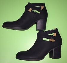 d019daee8f07 Natural Soul Tobi Bootie Womens Size 11 Black Ankle Boots