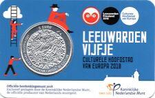 5 EURO PAYS-BAS 2018 UNC - LEUVARDE, CAPITALE EUROPEENNE DE LA CULTURE