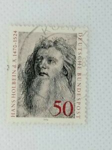 West Germany 1974 450th Death Anniv of Hans Holbein 1 stamp set used