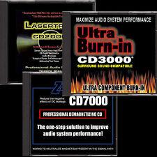 SET OF 3 AUDIO SYSTEM TEST & MAINTENANCE CD s , DISC, plus great Free bonus App