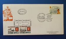 1987 VICTORIAN BRITAIN FFESTINIOG RAILWAY FDC SIGNED BY CHAIRMAN HENRY ARCHER