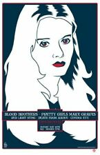 Blood Brothers La Silkscreen Signed 03 Poster