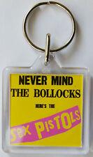 Sex Pistols Never Mind The  Keyring, U1 Brand New Top Quality Free Postage