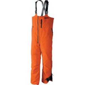 Cabela's Men's Waterproof Hunter Blaze Orange Dry-Plus Insulated Hunting Bibs L