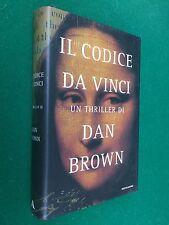 Dan BROWN - IL CODICE DA VINCI , Ed. Mondadori (2005) Libro Cop. Rigida Ottimo