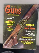 Vintage Guns Magazine May 1969 Browning Field Grade Over Under Shotgun Air Guns