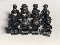 Swat Military Police 12 Minifigure Lot US Seller