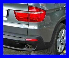 2 EMBOUTS D'ECHAPPEMENT INOX CHROME BMW X5 E70 (2006-2013) NEUF
