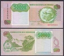 Angola 50000 50.000 Kwanza 1991 Banknote Pick 132 UNC (1)   (25116