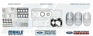 08-10 6.4 Powerstroke Mahle Upper & Lower* Gasket Set With Ford OE Piston Rings