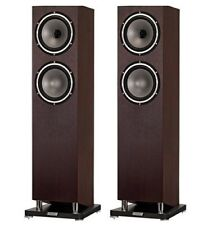 Tannoy Revolution XT 8F Floor Standing Speakers Dark Walnut