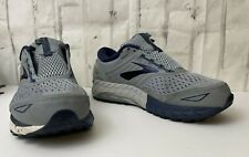 Brooks Beast 18 Men's Size 9 4E Extra Wide Grey Blue White Shoes Sneakers