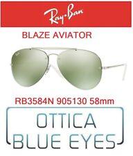 Occhiali da Sole RAY BAN SUNGLASSES RB 3584N 905130 58mm BLAZE AVIATOR RAYBAN