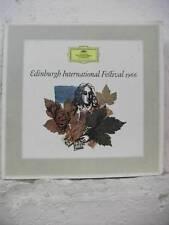 104 482 DG Tulip Edinburgh International Festival 1966 STEREO GERMANY VINYL LP