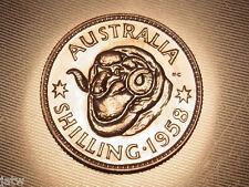New listing Australia . 1958 Shilling. Proof - Fdc. Mintage - 1506