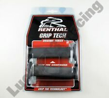 Renthal Handlebar grips G148 medium grey Medium compound road race grips
