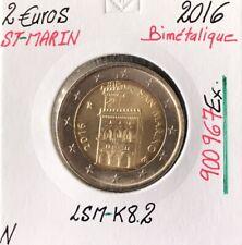 Saint-Marin - 2 Euro 2016 - Pièce de monnaie Neuve
